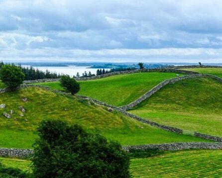 Green-rolling-hills-in-Ireland